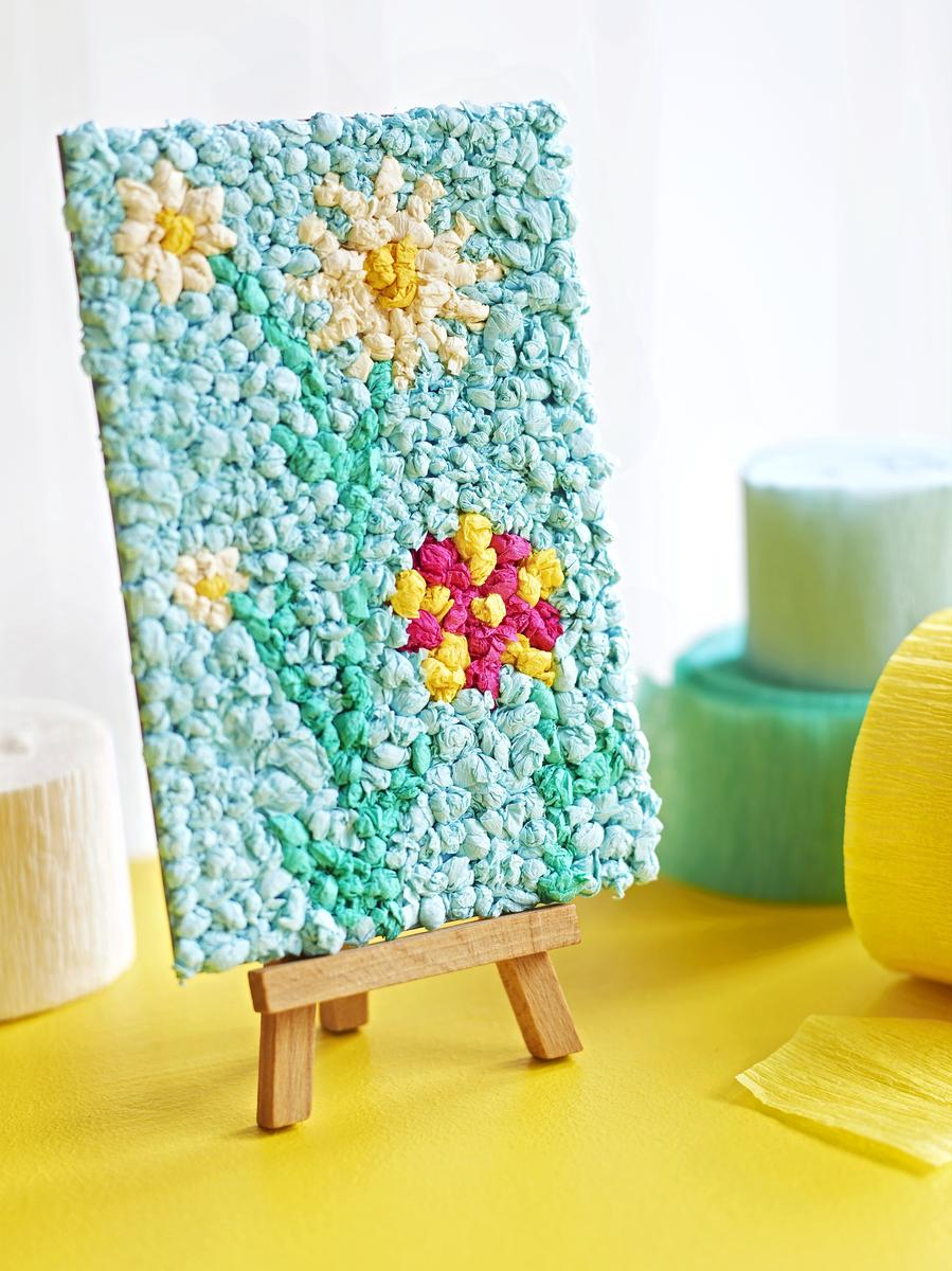 Tear fall colored construction paper into small pieces and glue - Tear Fall Colored Construction Paper Into Small Pieces And Glue 50