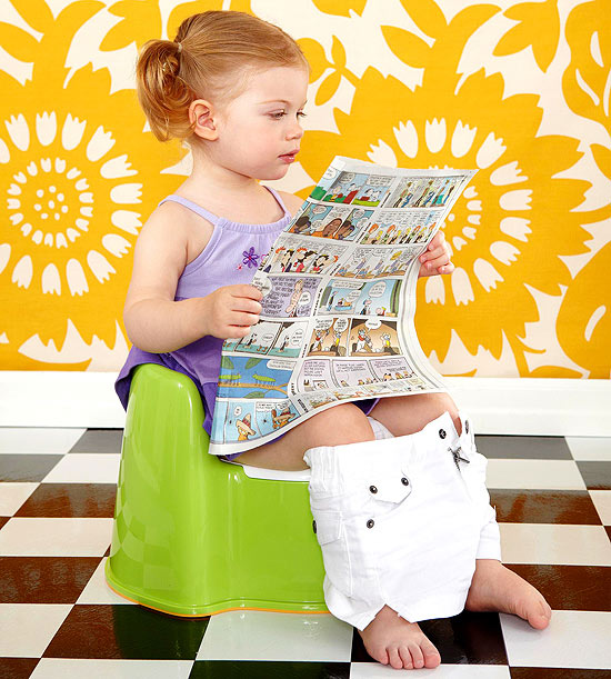 How tough is it to be a single parent potty training?