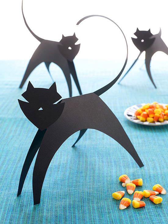 cool paper crafts for kids easy paper craft ideas for kids - Halloween Crafts Construction Paper