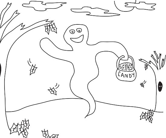 Frightfully Fun Halloween Coloring Pages
