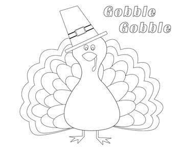 use our free, printable designs to keep kids of all ages ... - Thanksgiving Coloring Worksheets