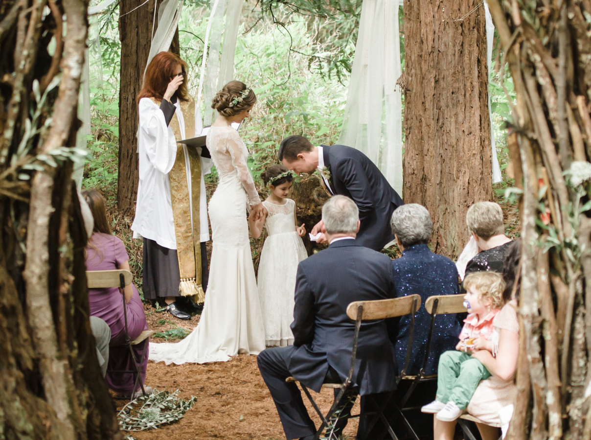 10 sweet ways to incorporate your kids into your wedding parents