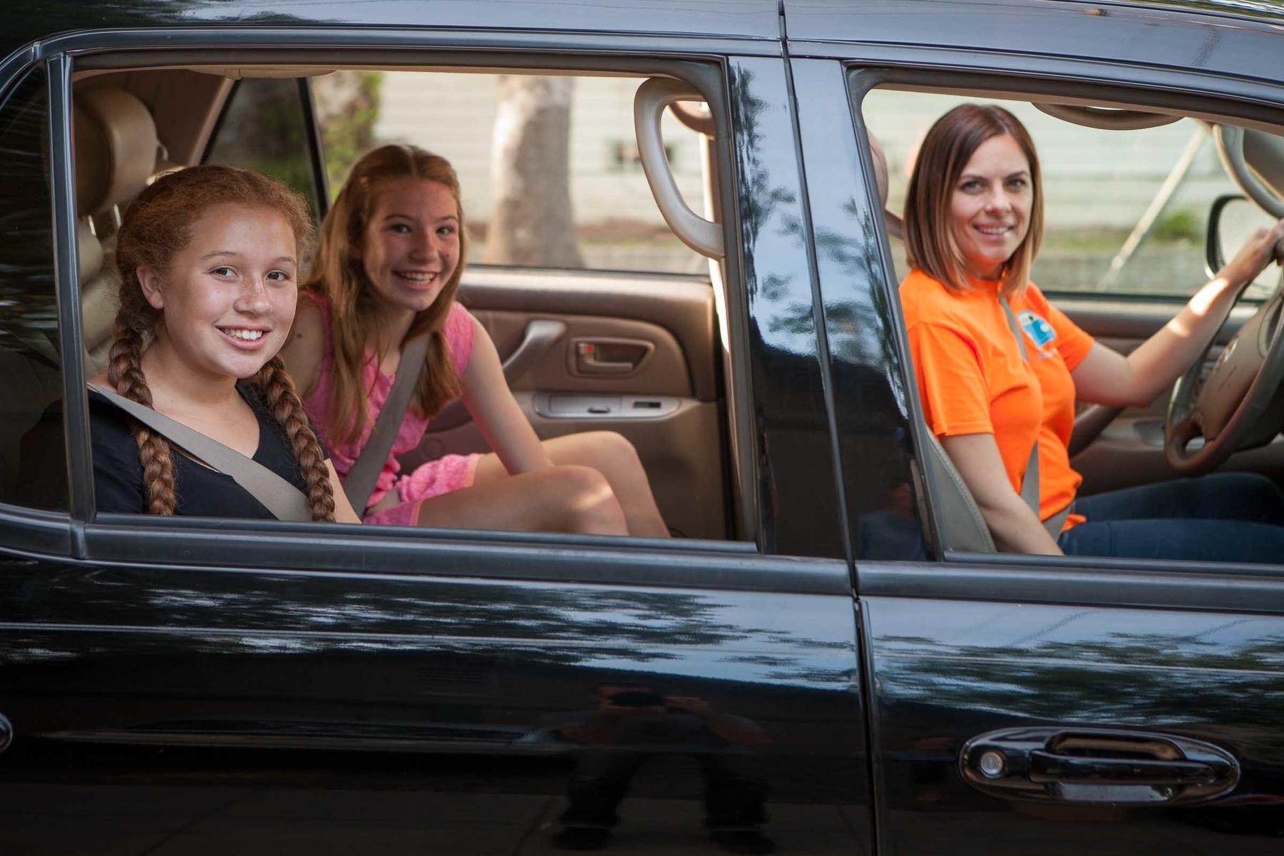 parents say driving their kids everywhere is more stressful than
