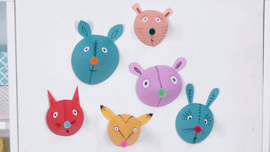 Wonderful Paper Crafts For Kids To Make At Home Part - 10: Parents Magazine