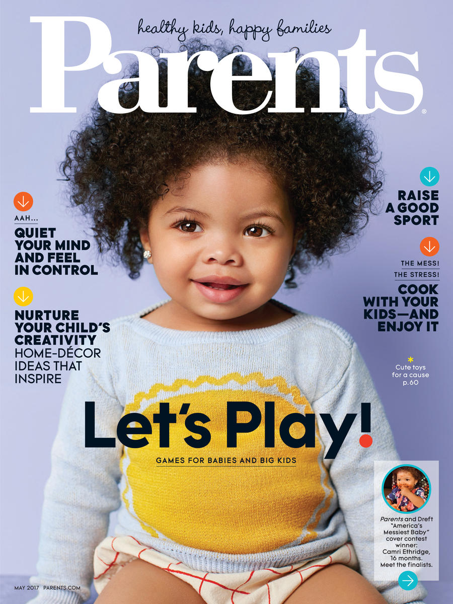 Parents Magazine May 2017 COVER
