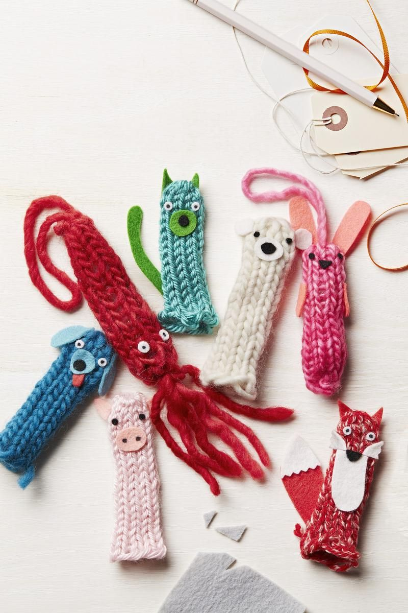 Easy Knitting Ideas For Christmas : Easy no knit yarn crafts parents