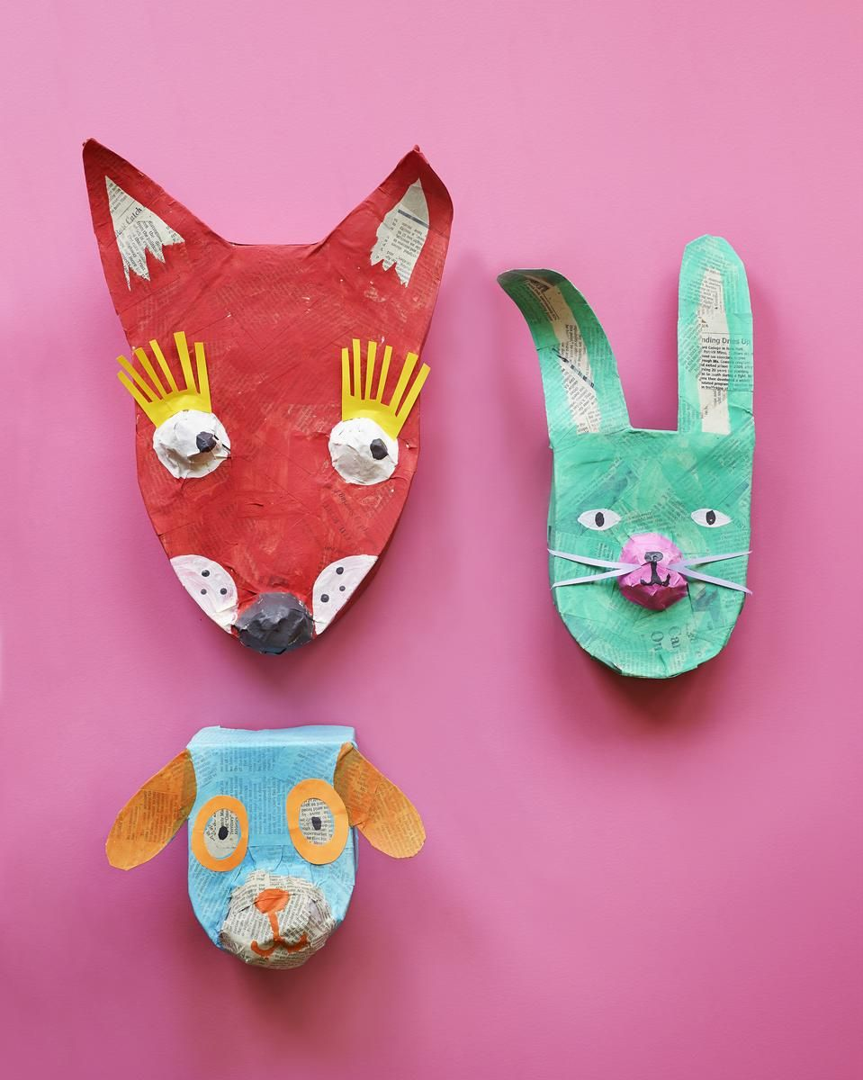Cool paper crafts for kids for Fun easy homemade crafts