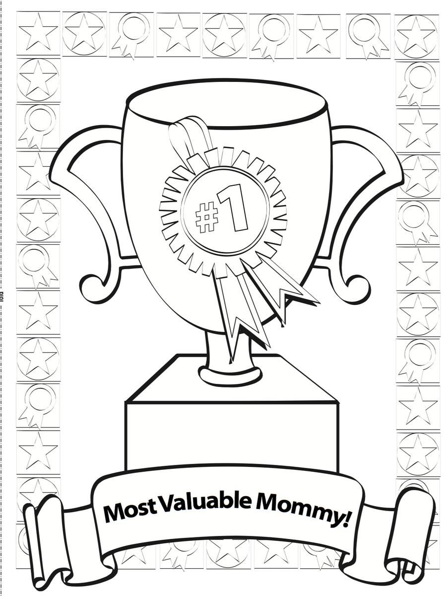 This is an image of Exceptional Mother's Day Printables