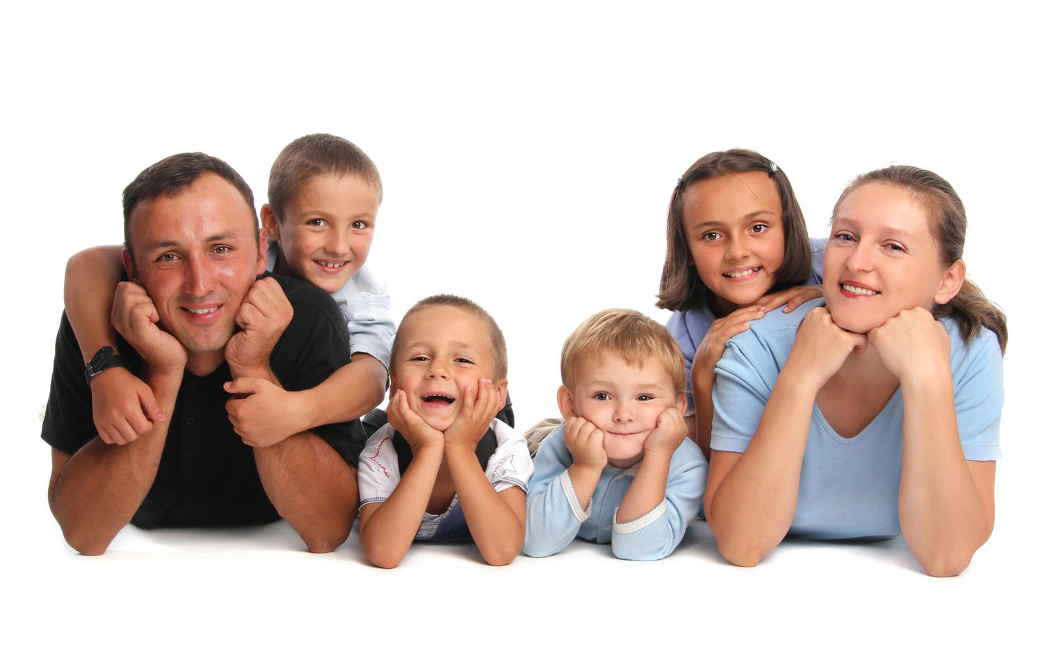 Happiest parents have four or more kids study says parents - Houses for families withchild ...
