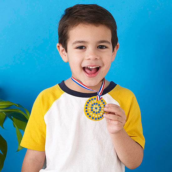 Go For The Gold Olympic Medal Craft