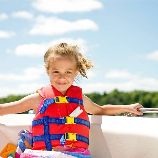 Choosing The Best Life Jackets For Kids