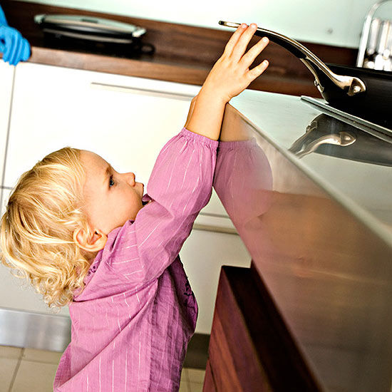 Barefoot Pregnant And In The Kitchen: Keeping Kids Safe From Burns