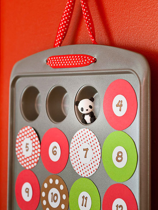 Preschool Xmas Calendar Ideas : Make your own advent calendar to countdown the days til