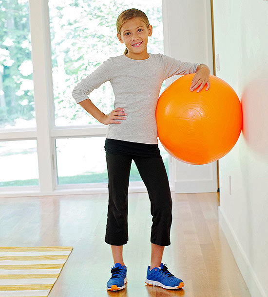 Fun Bouncy Ball Exercises