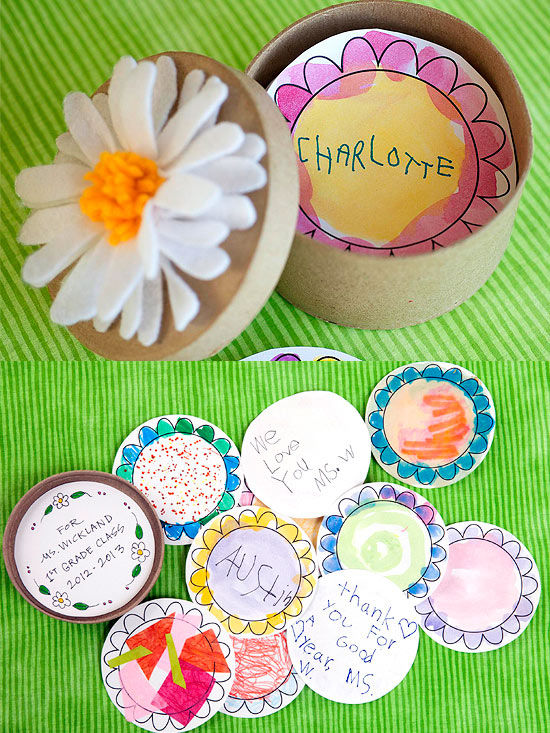 Teacher gift crafts for Thank you crafts for teachers