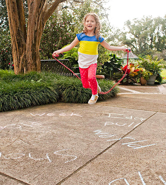 Learning Activity: A Jump-Rope Spelling Game