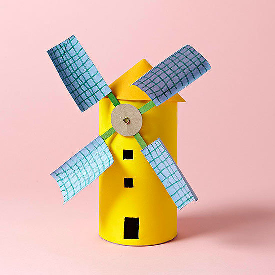 Windmill Craft From Everyday Items