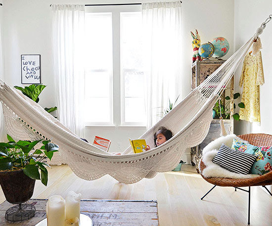 Turn your house into a creative home - How to make hammock at home ...