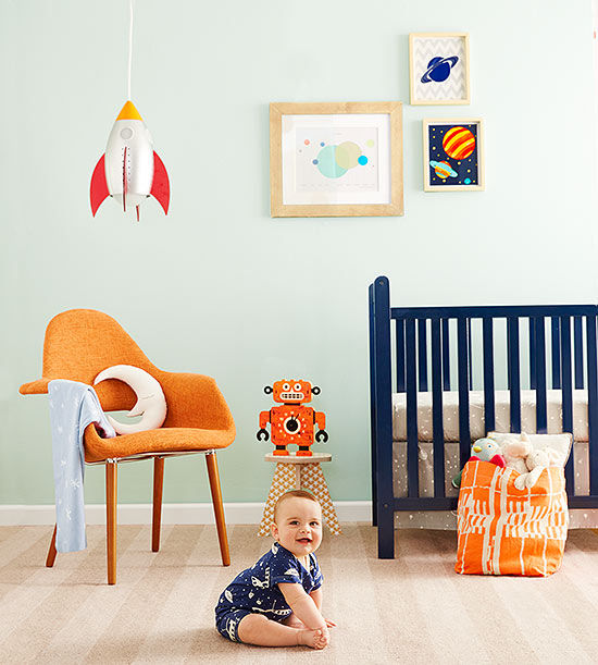 Best Products To Design A Rocket Themed Nursery