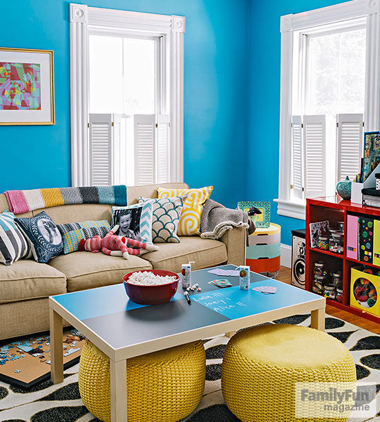 Living Room Designs Funny Colorful Living Room Decorating: Fun Ways To Fix Up Your Living Room