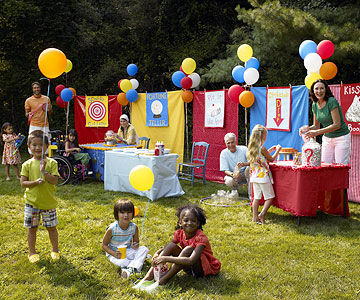 Carnival party host a backyard carnival bash for All decoration games