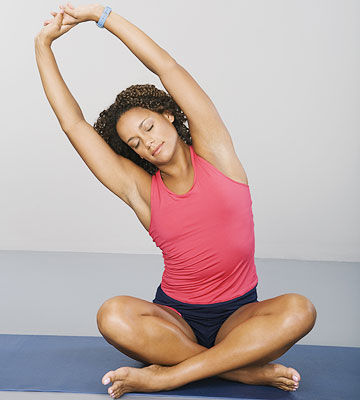 Pain Relieving Stretches For Moms