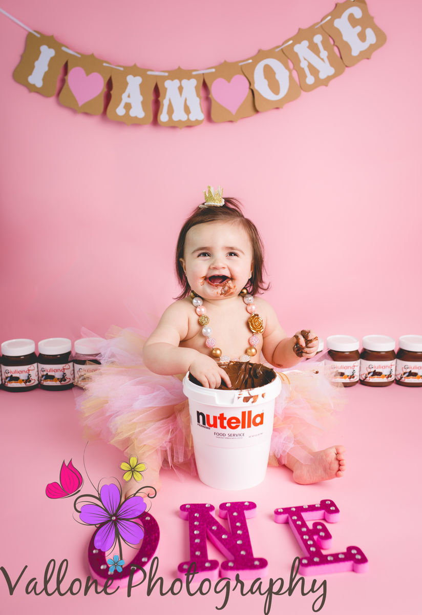 This Baby S Smash Cake Is Every Nutella Lover S Dream