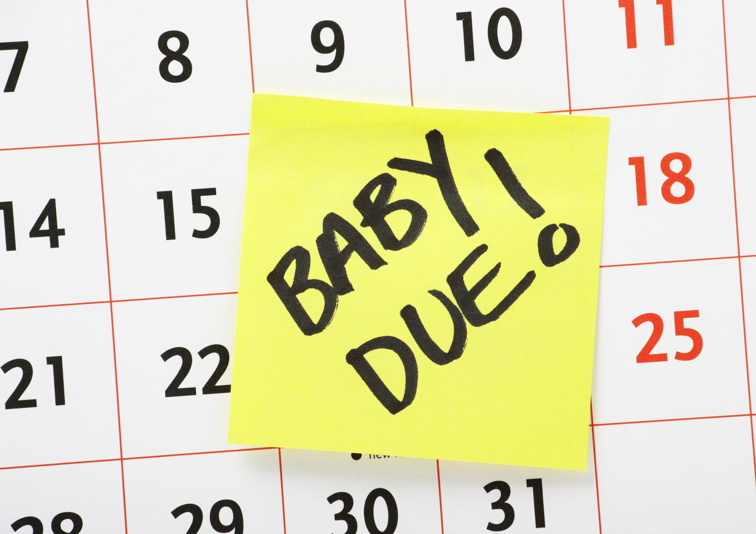 Image result for baby due date