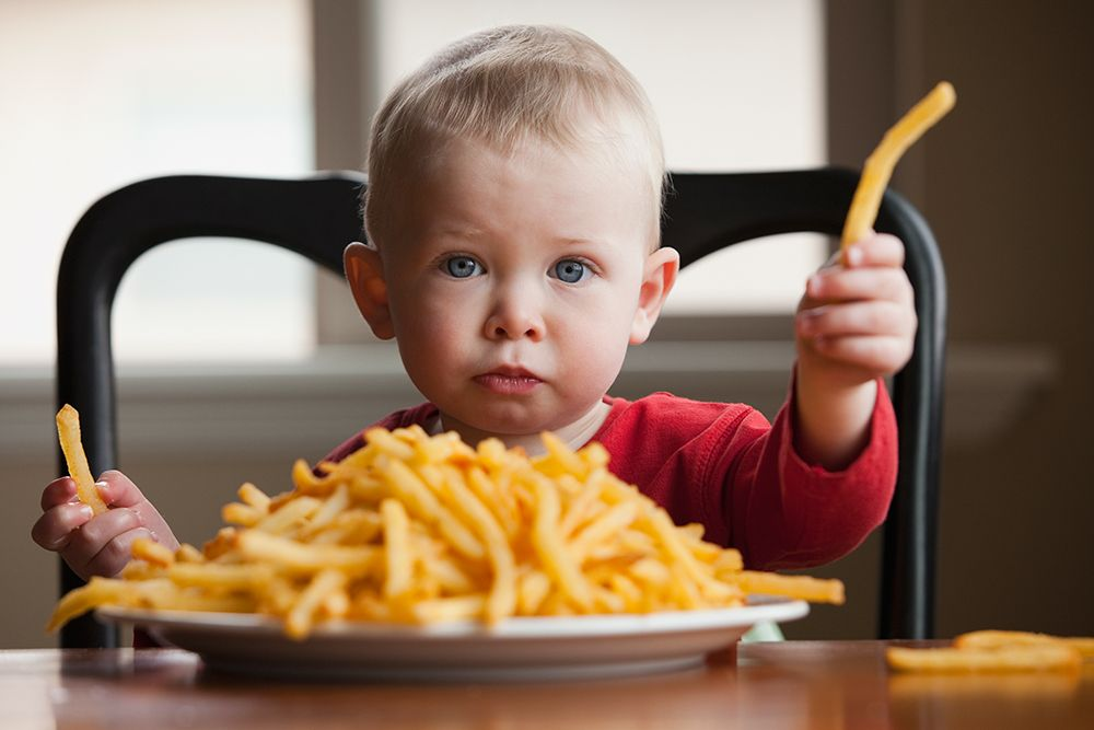 Is Your Baby A Junk Food Junkie Parents