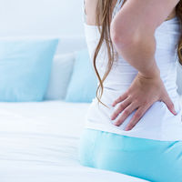 Mom with Back Pain