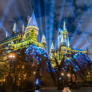 The Magic of Christmas at Hogwarts Castle