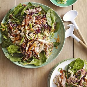Healthy Fast Food Moo Shu Chicken Salad