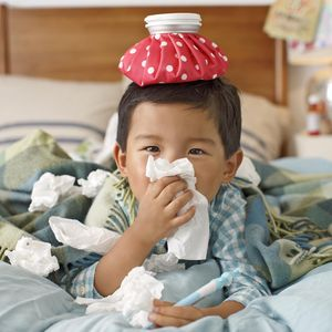 Boy with Cold Immunity Boost