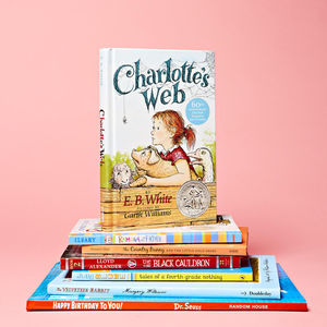 Pile of Children Authors' Favorite Books