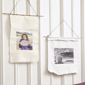 Cool Photo Crafts Make a Fabric Print