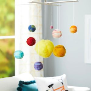 Solar System Mobile STEM Craft
