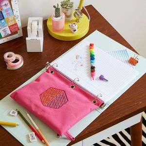 Kids Craft Geometric Pencil Pouches