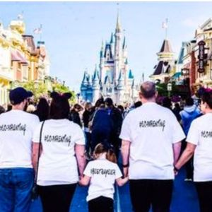 co-parenting at Disney World