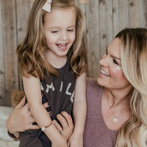 Christina Smallwood and Daughter Finely