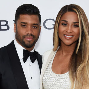 Ciara and Russell Wilson Elton John AIDS Foundation Oscar party