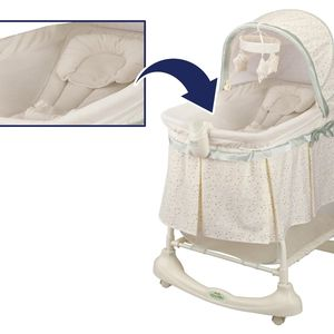 Kolcraft Recalls Inclined Sleeper Accessory Included with Cuddle 'n Care and Preferred Position 2-in-1 Bassinets & Incline Sleepers to Prevent Risk of Suffocation recall image
