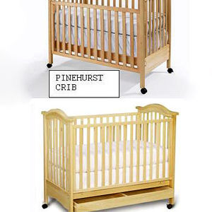 "Bonavita ""Hudson"" and Babi Italia ""Pinehurst"" Drop Side Cribs Recalled recall image"