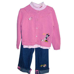 Minnie Mouse Cardigan Sets Recalled recall image