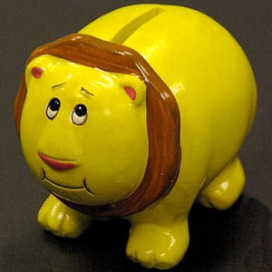 Ceramic Piggy and Lion Banks Recalled recall image