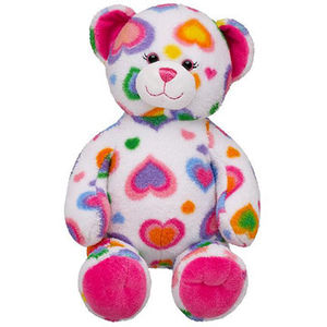 Build-A-Bear Colorful Hearts Teddy Bears Recalled recall image