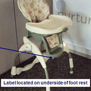 Graco Recalls Harmony High Chairs Recalled recall image