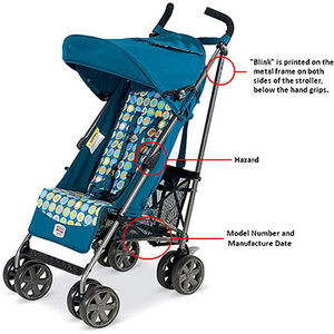 Britax Strollers Recalled recall image