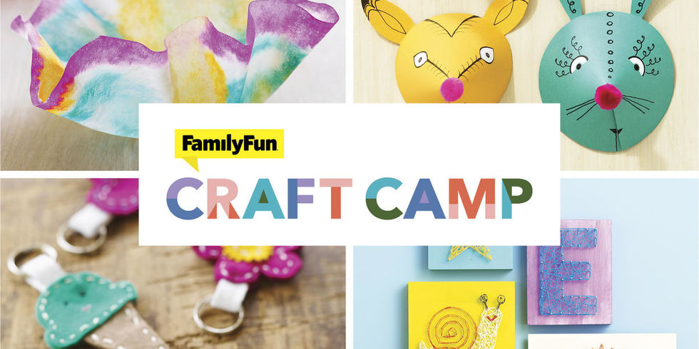 FamilyFun Craft Camp Square Banner