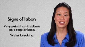 Labor & Delivery: Signs of Real vs. False Labor