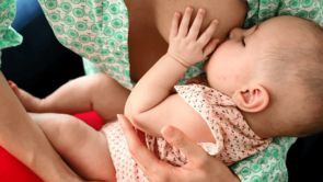 How to Get a Good Breastfeeding Latch
